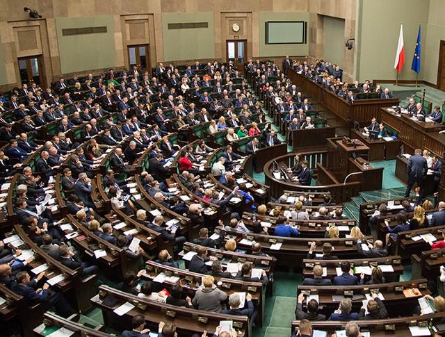 Заседание Сената Польши