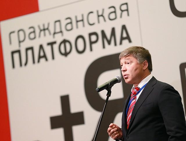 """Председатель партии """"Гражданская платформа"""" Рифат Шайхутдинов"""