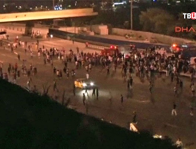 Военный переворот в Турции