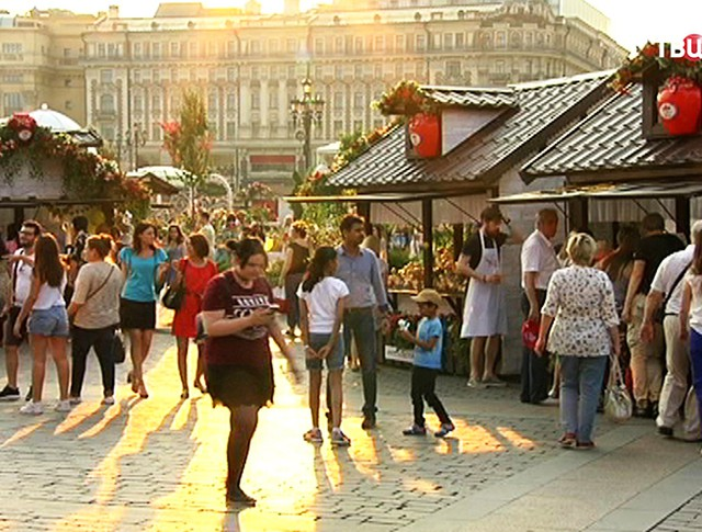 Фестиваль варенья в Москве