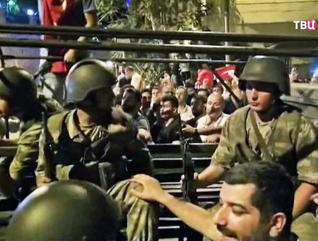 Попытка военного переворота в Турции
