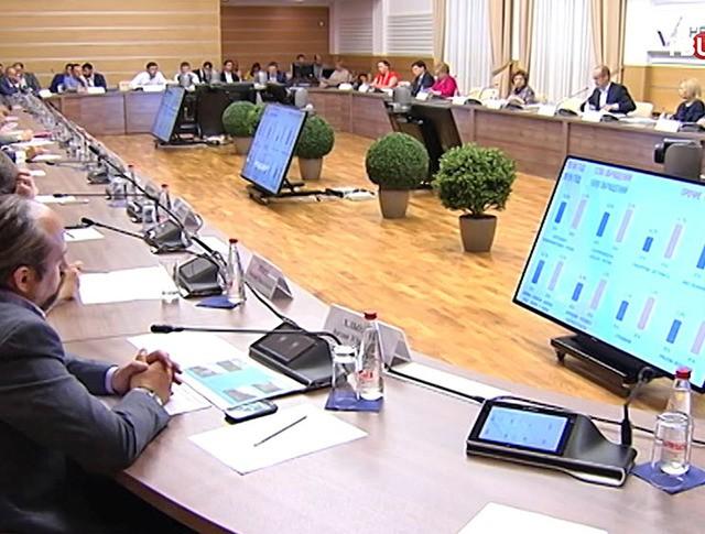 Заседание Общероссийского народного фронта (ОНФ)