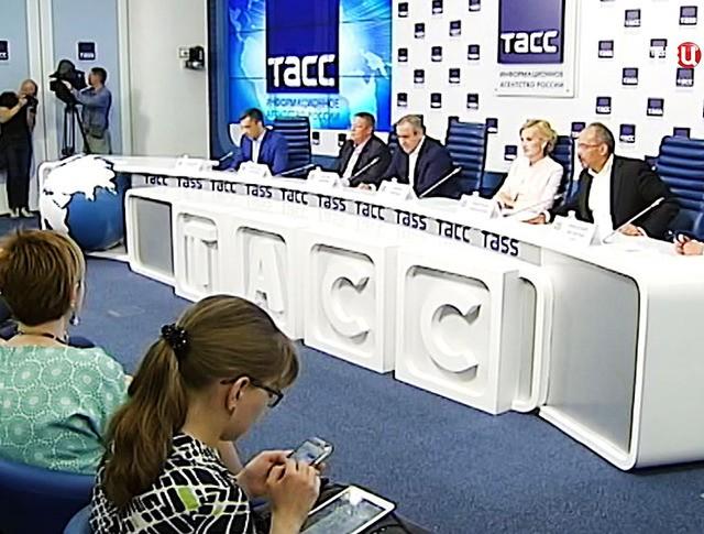 """Пресс-конференця партии """"Единая Россия"""""""
