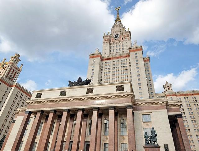 Высотное здание МГУ