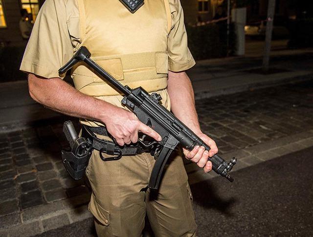 Сотрудник полиции Германии