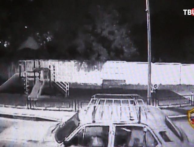 Момент угона автомобиля