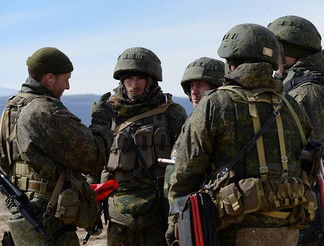 Военнослужащие мотострелковой горной бригады