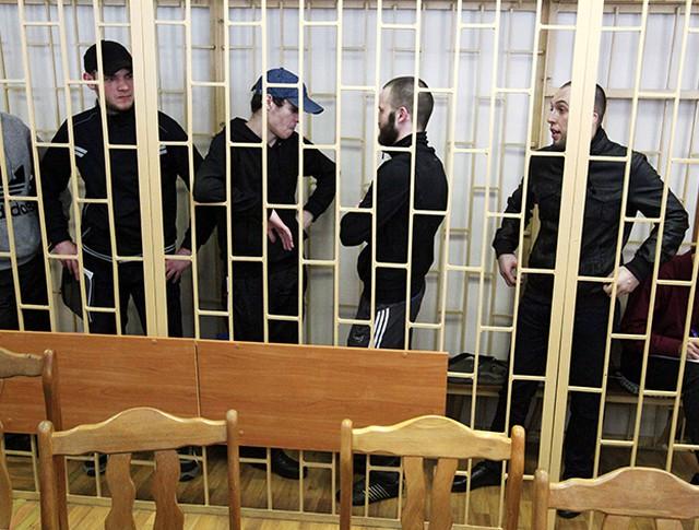 """Участники банды """"приморских партизан"""""""