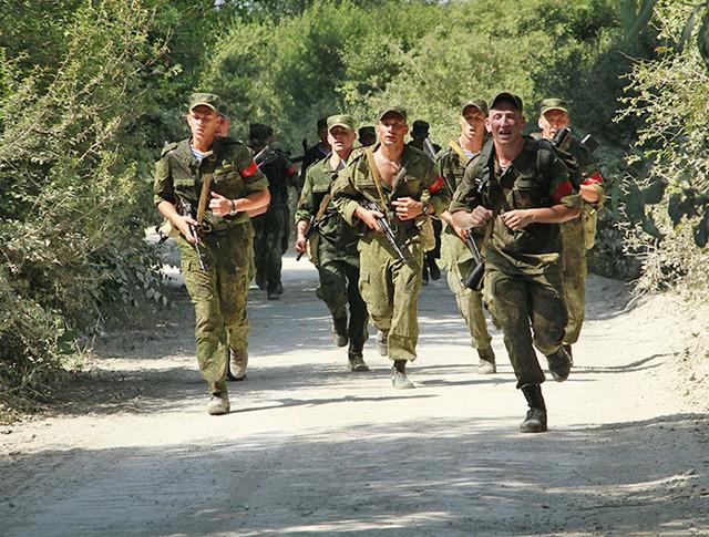 Подготовка к международным Армейским играм