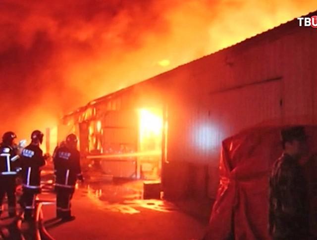 Пожар в Пекине