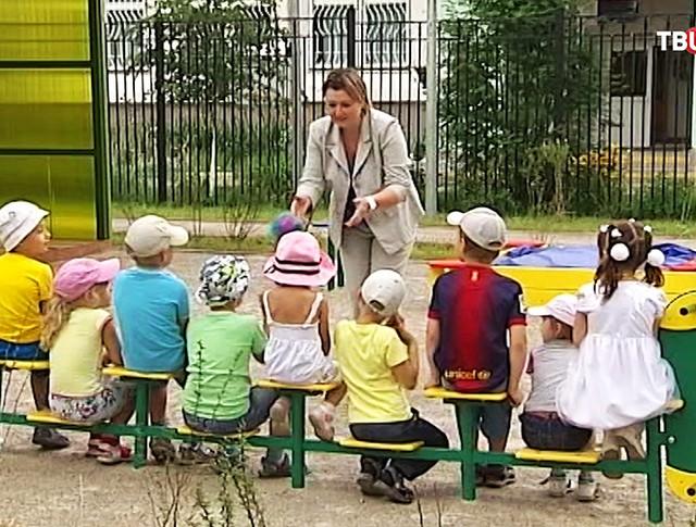 Дети в санатории