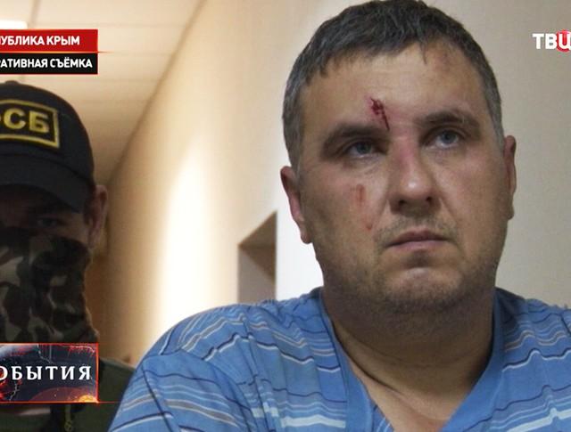 Задержанный сотрудник ГУР министерства обороны Украины