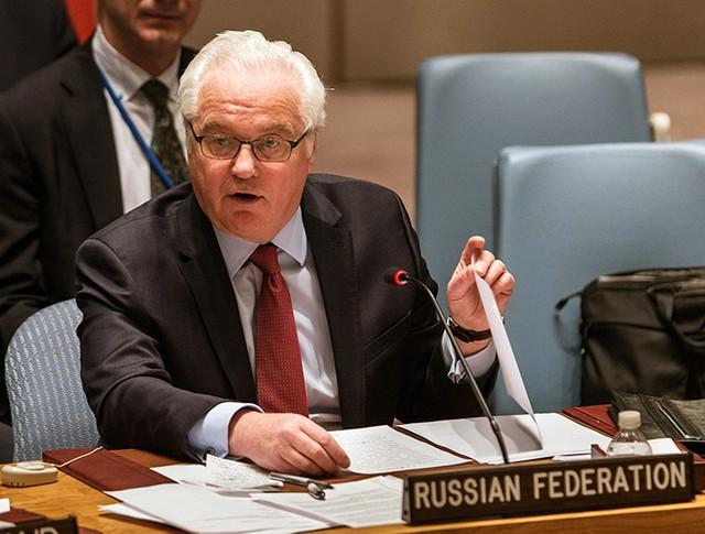 Постоянный представитель России в ООН Виталий Чуркин