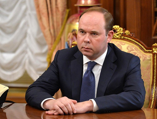 Глава администрации президента Антон Вайно