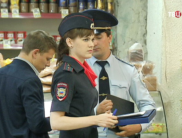 Полиция проводит рейд