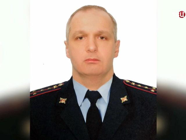 Погибший после нападения на пост ДПС полицейский Михаил Балакин