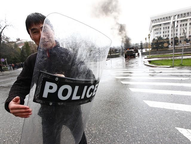 Полиция Киргизии