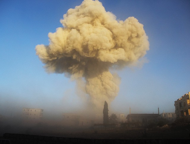 Взрыв в Сирии