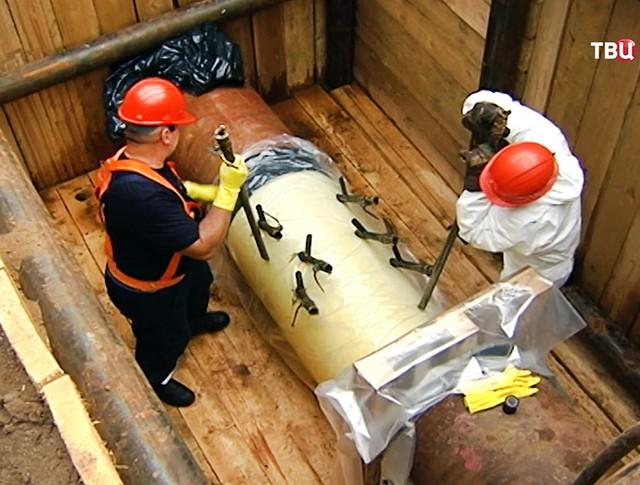 Реконструкция газопровода