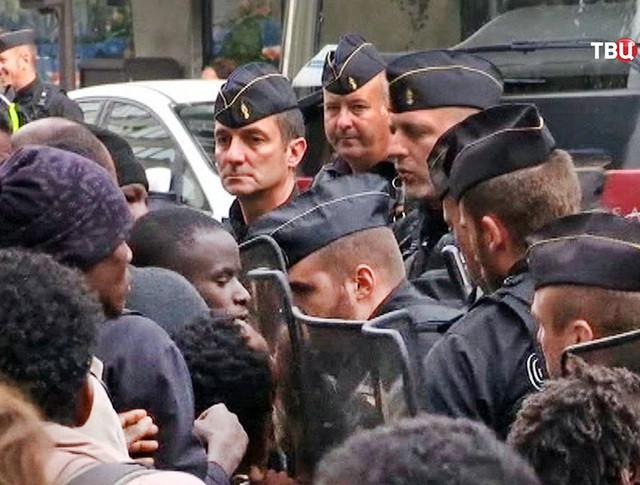 Полиция Франции и мигранты