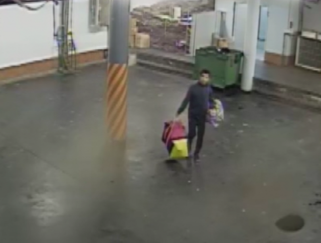 Подозреваемый в краже