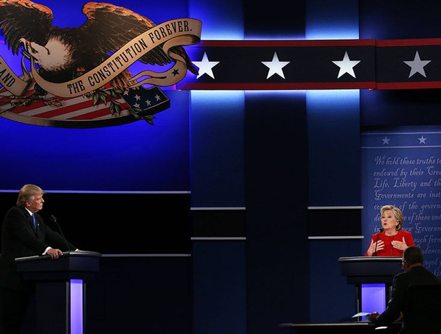 Первые президентские дебаты в США