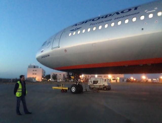 """Самолет компании """"Аэрофлот"""""""