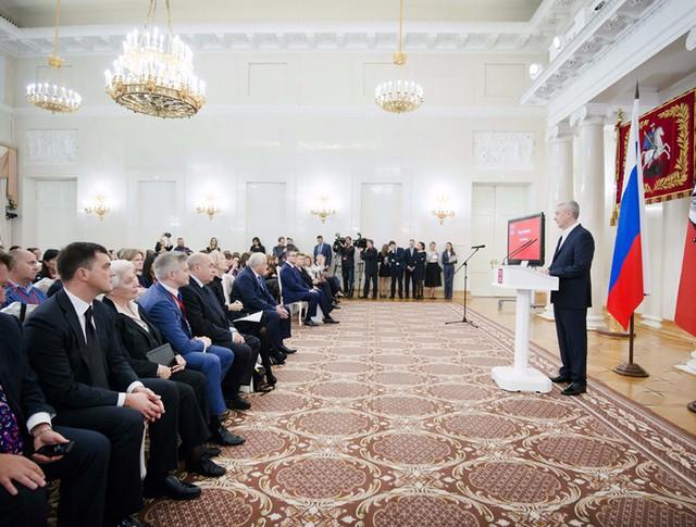 Сергей Собянин на церемонии открытия Московского саммита Культурного форума мировых городов