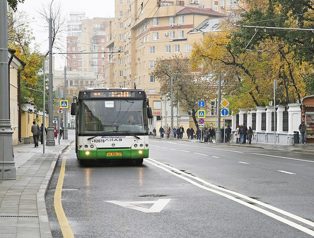 Выделенная полоса для общественного транспорта