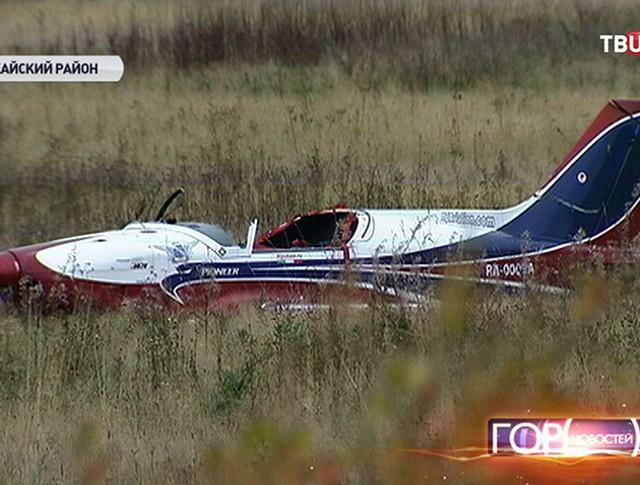 Крушение одномоторного самолета в Подмосковье