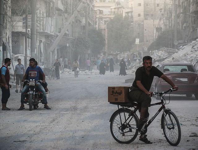 Жители города Алеппо, Сирия