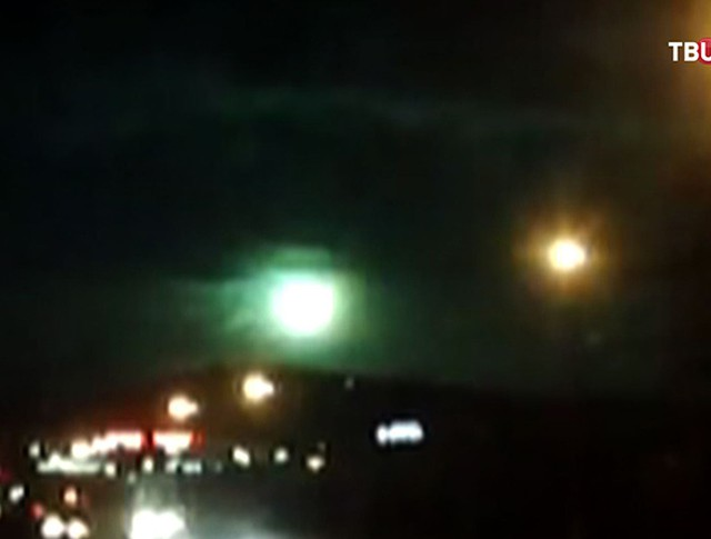 Падение метеорита в Бурятии
