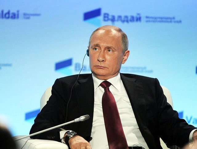 """Президент Владимир Путин на заседании Международного дискуссионного клуба """"Валдай"""""""