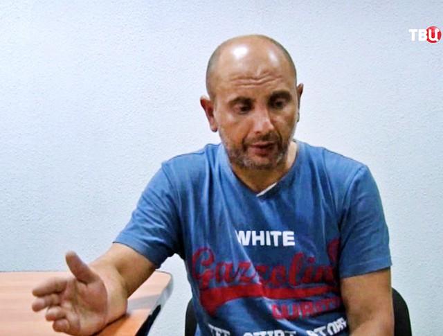 Задержанные в Крыму украинские диверсанты