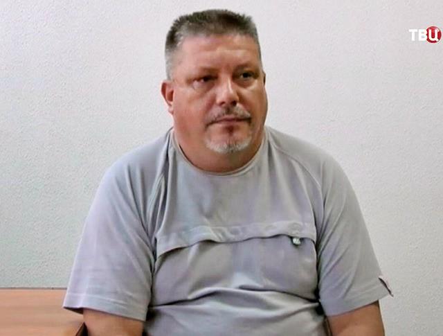 Задержанный украинский диверсант Дмитрий Штыбликов