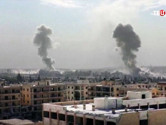 Применение химоружия в Сирии