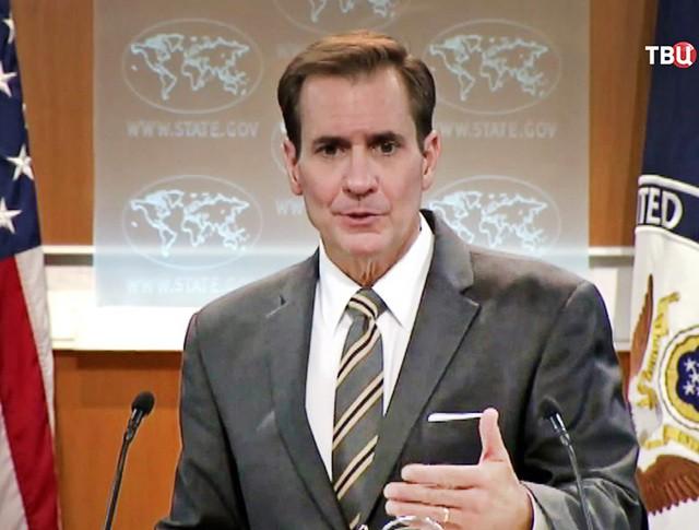 Официальный представитель Госдепа США Джон Кирби