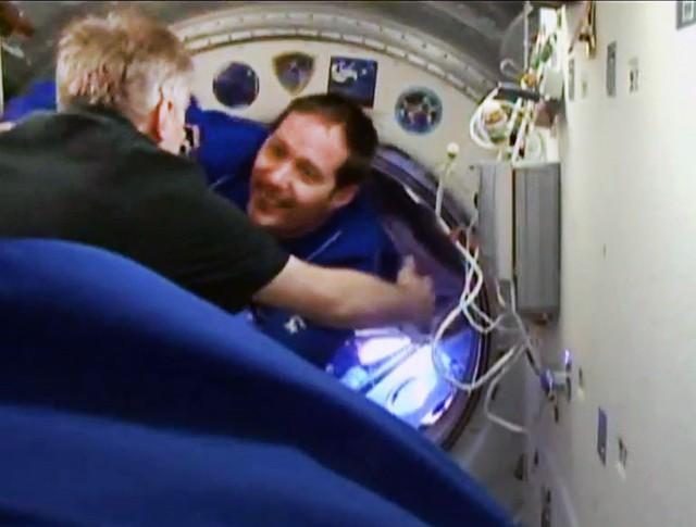 Новая экспедиция прибыла на МКС