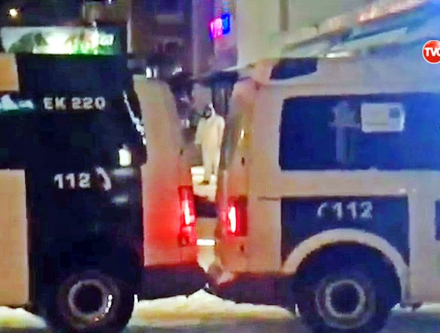 Полиция Финляндии на месте происшествия