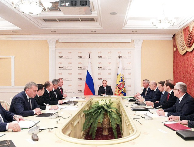 Президент России Владимир Путин провел заседание Совбеза