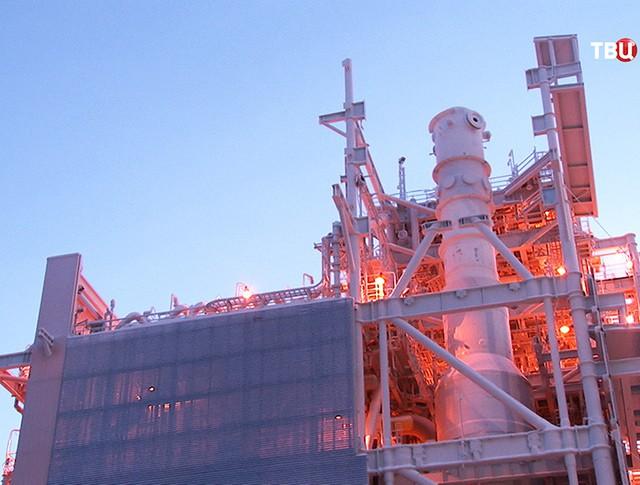Строительство первого заполярного завода по сжижению газа