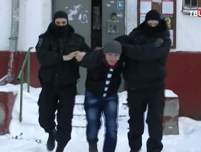 Задержание экстремистов в столичном регионе