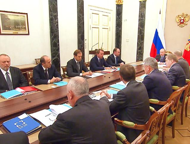 Заседание Комиссии по вопросам военно-технического сотрудничества России с иностранными государствами