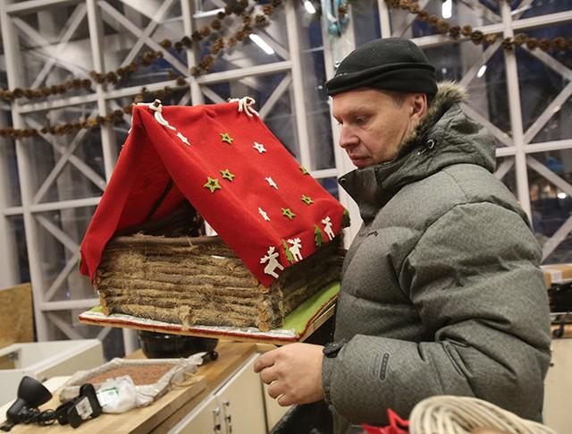 Подготовка к открытию центральных площадок фестиваля «Путешествие в Рождество»