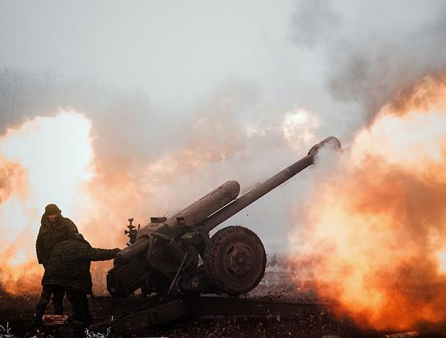 Боевые действия в районе города Дебальцево, Украина