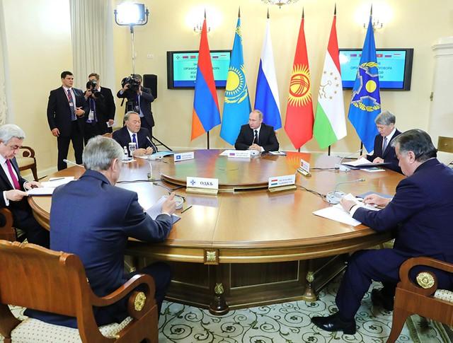 Саммит совета коллективной безопасности ОДКБ