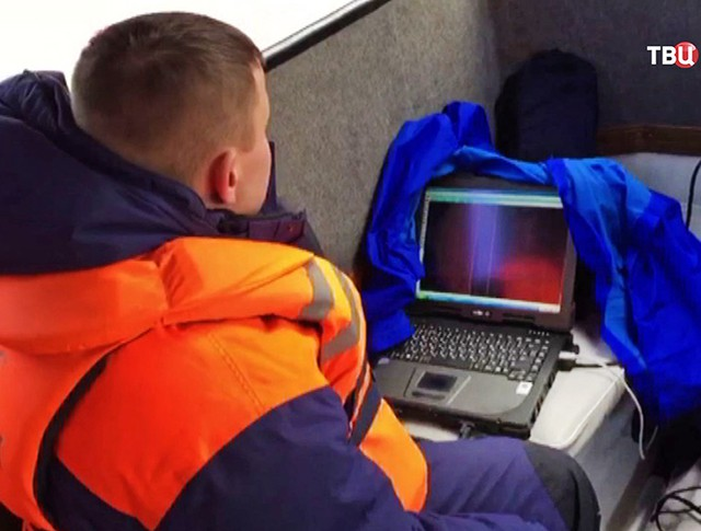 Поисково-спасательная операция МЧС России в зоне падения Ту-154