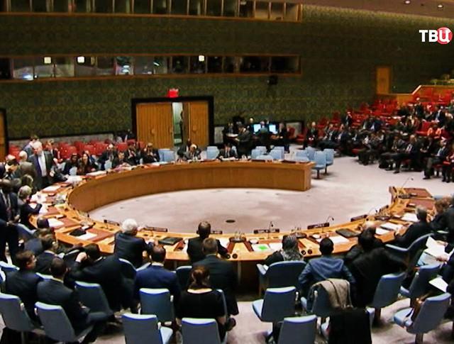 Заседание ООН