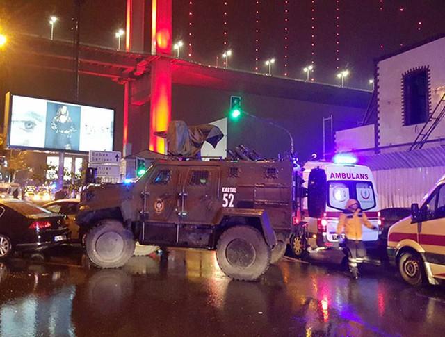 На месте происшествия в Стамбуле