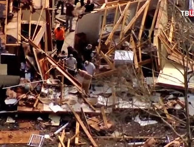 Последствия торнадо